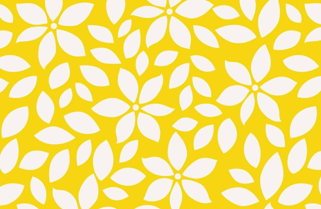 Other - Motif fleur jaune - Chambre de bébé 7