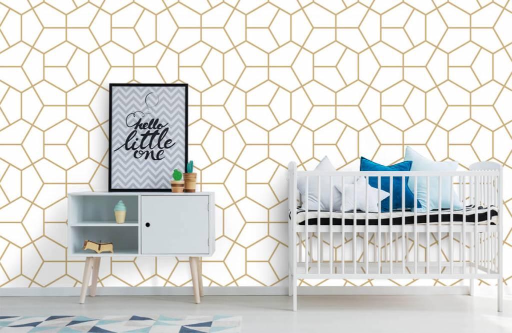 Other - Motif géométrique en or - Chambre à coucher 4