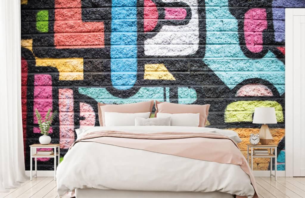 Graffiti - Mur de graffiti - Chambre d'adolescent 2