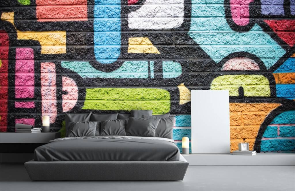 Graffiti - Mur de graffiti - Chambre d'adolescent 3