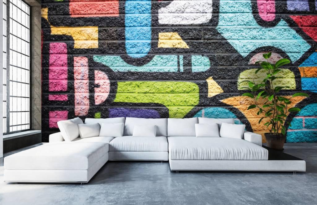 Graffiti - Mur de graffiti - Chambre d'adolescent 6