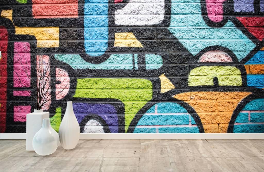 Graffiti - Mur de graffiti - Chambre d'adolescent 8