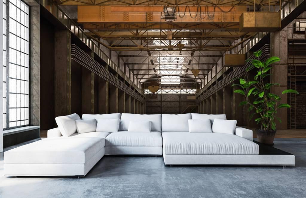 Buildings - Hall industriel abandonné - Entrepôt 1