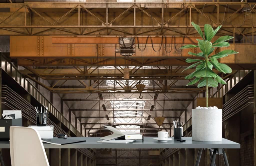 Buildings - Hall industriel abandonné - Entrepôt 2