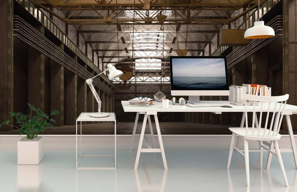 Buildings - Hall industriel abandonné - Entrepôt 3