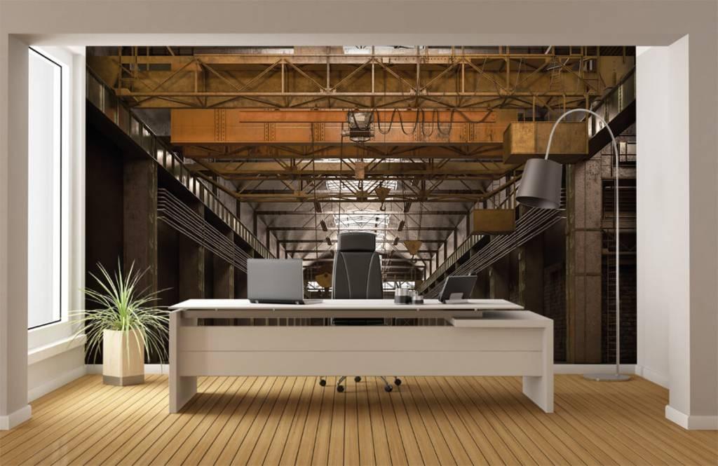 Buildings - Hall industriel abandonné - Entrepôt 4