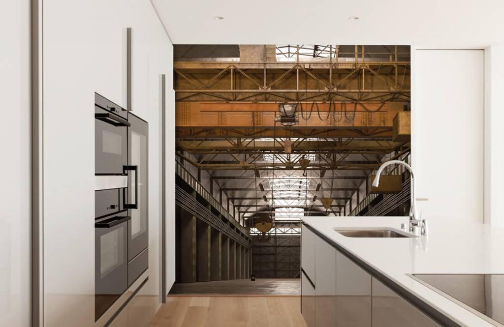 Buildings - Hall industriel abandonné - Entrepôt 5