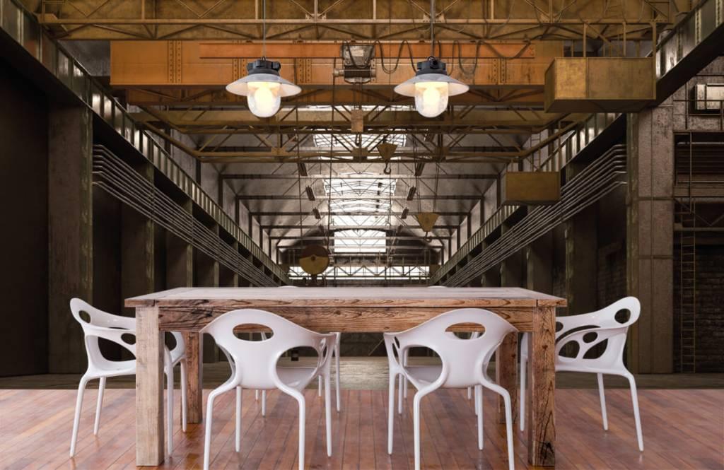 Buildings - Hall industriel abandonné - Entrepôt 6