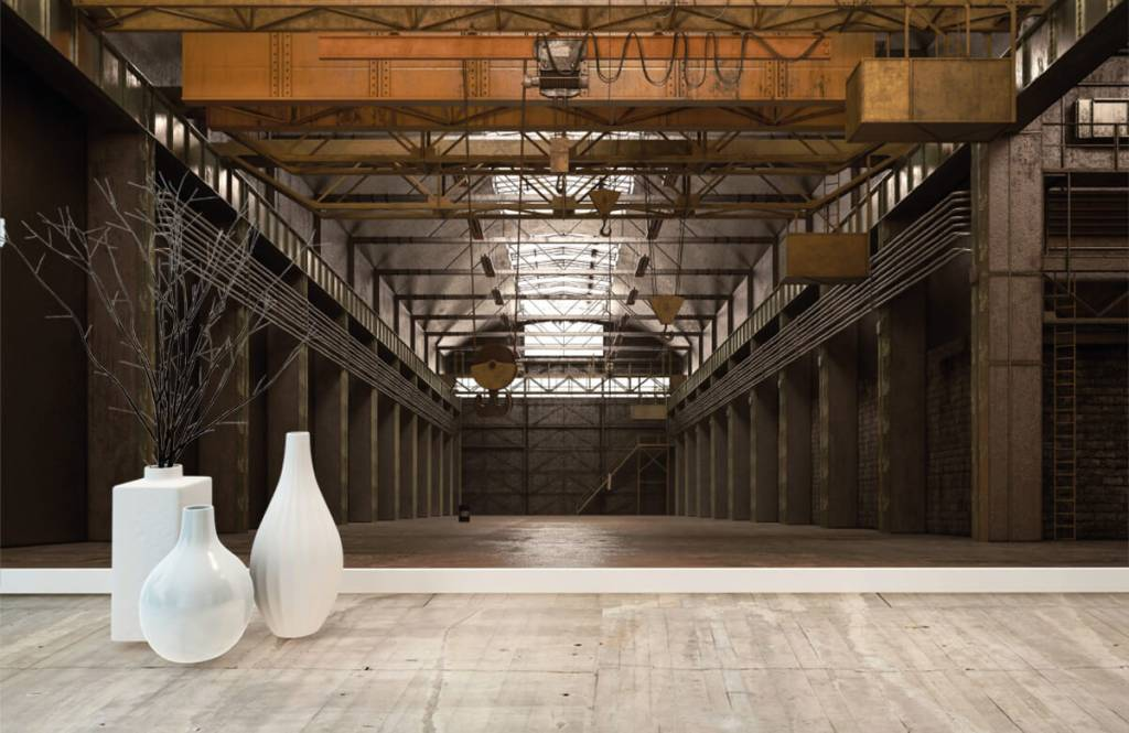 Buildings - Hall industriel abandonné - Entrepôt 7