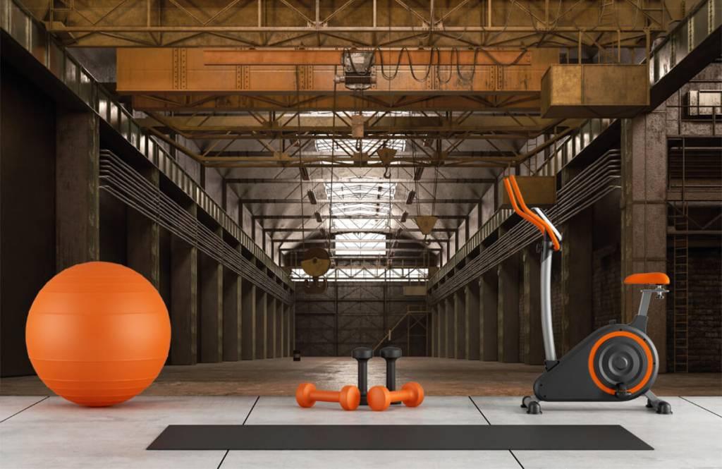 Buildings - Hall industriel abandonné - Entrepôt 8