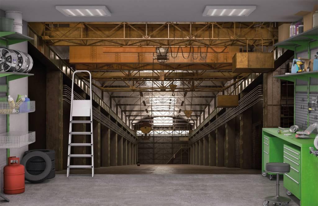 Buildings - Hall industriel abandonné - Entrepôt 9