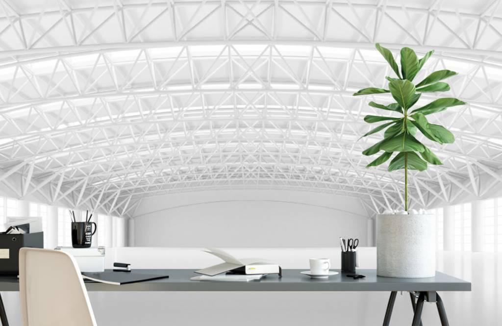 Buildings - Entrepôt blanc vide - Gérant 1