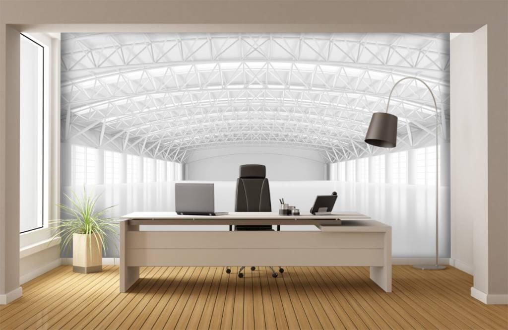 Buildings - Entrepôt blanc vide - Gérant 3