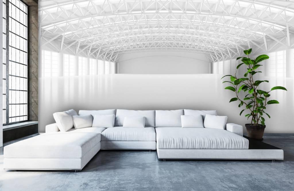 Buildings - Entrepôt blanc vide - Gérant 5