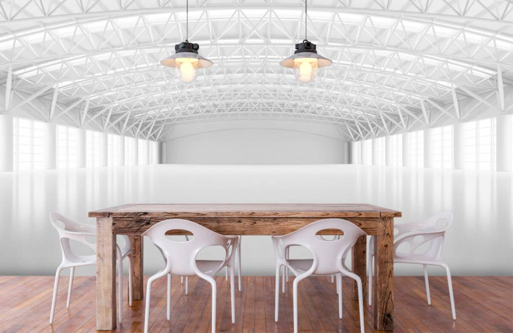 Buildings - Entrepôt blanc vide - Gérant 6