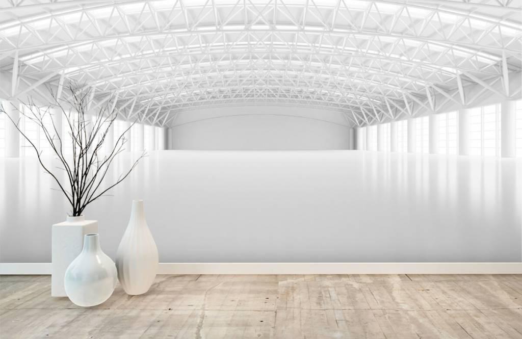 Buildings - Entrepôt blanc vide - Gérant 7