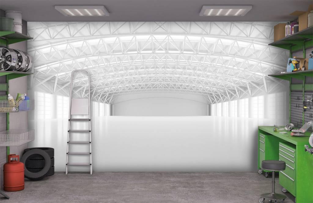 Buildings - Entrepôt blanc vide - Gérant 9