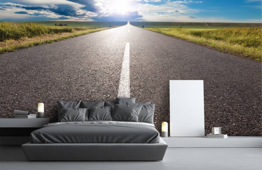Roads & Streets - Route infinie - Chambre à coucher 1