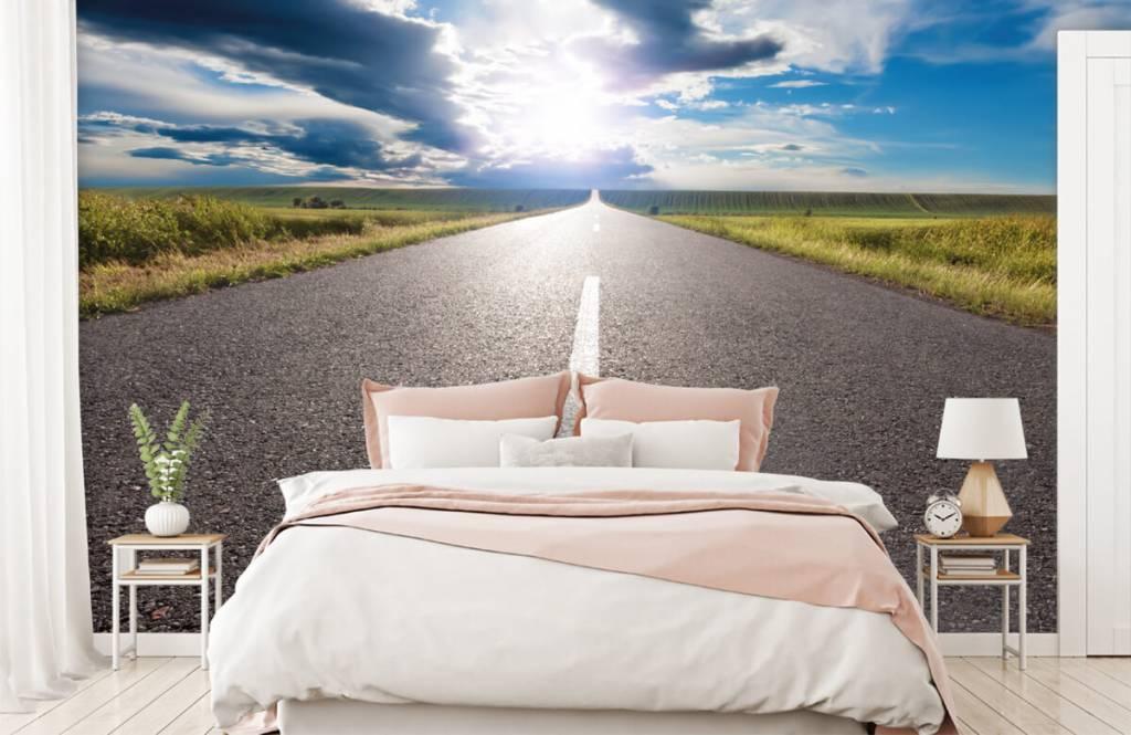 Roads & Streets - Route infinie - Chambre à coucher 2