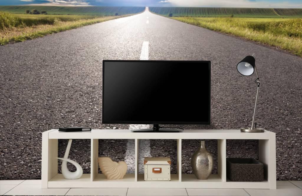 Roads & Streets - Route infinie - Chambre à coucher 4