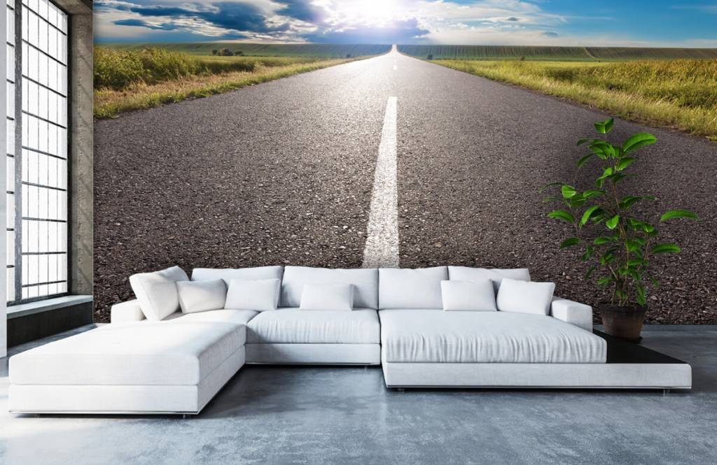Roads & Streets - Route infinie - Chambre à coucher 5