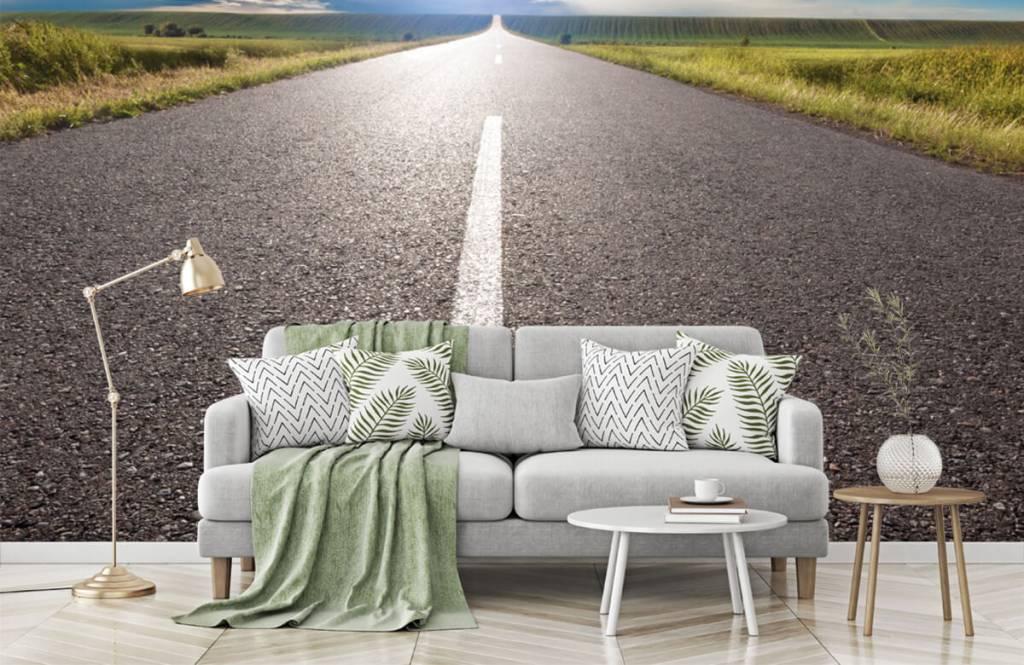 Roads & Streets - Route infinie - Chambre à coucher 7