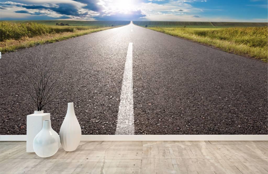 Roads & Streets - Route infinie - Chambre à coucher 8