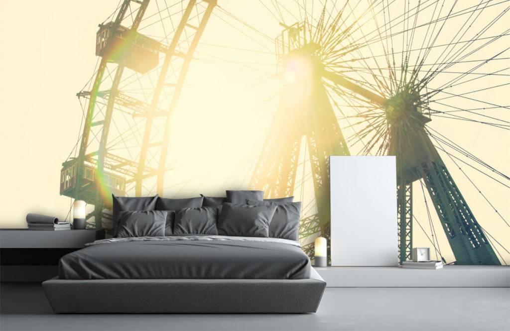 Architecture - grande roue - Chambre à coucher 1