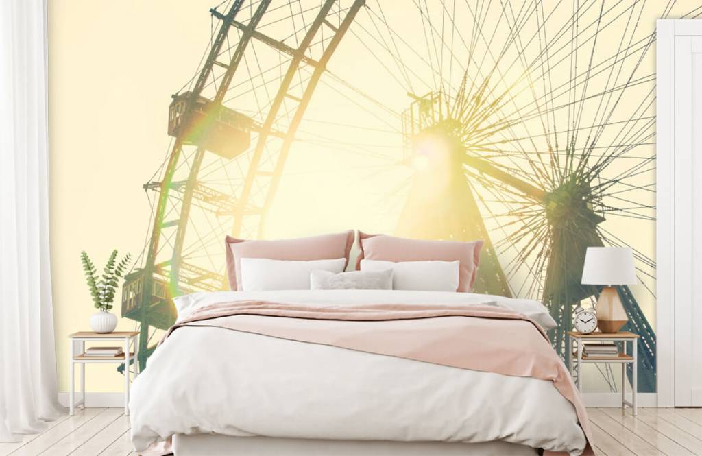 Architecture - grande roue - Chambre à coucher 2