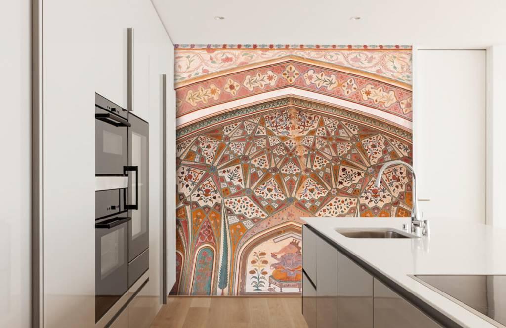Monuments - Arche indienne richement peinte - Chambre à coucher 3