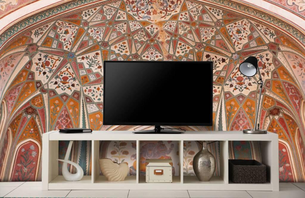 Monuments - Arche indienne richement peinte - Chambre à coucher 4