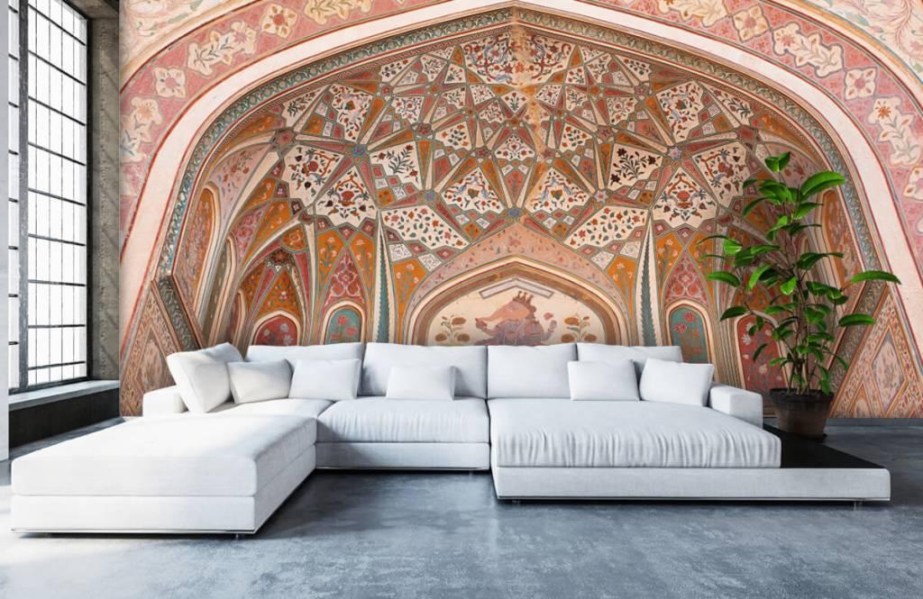Monuments - Arche indienne richement peinte - Chambre à coucher 5
