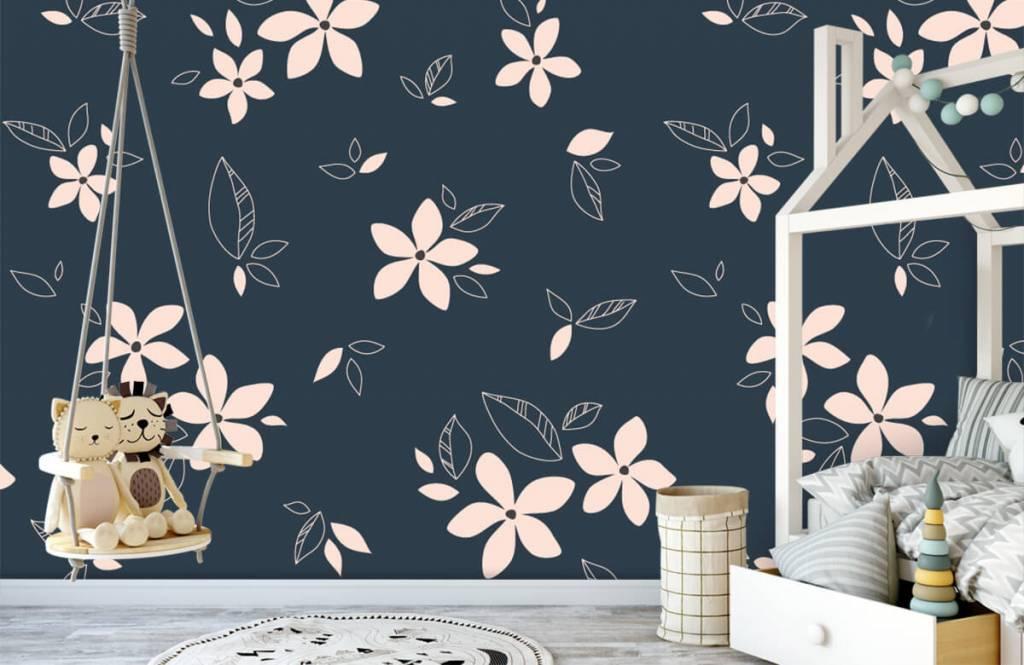 Patterns for Kidsroom - Motif floral rose - Chambre des enfants 1