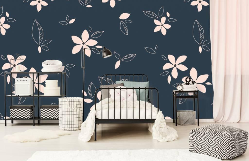 Patterns for Kidsroom - Motif floral rose - Chambre des enfants 2