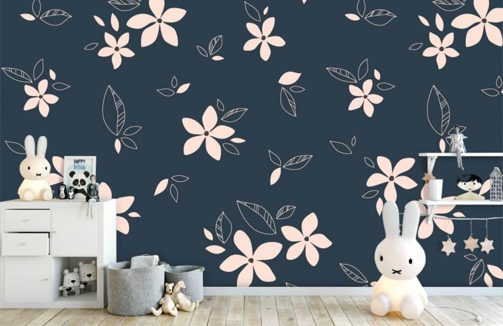Patterns for Kidsroom - Motif floral rose - Chambre des enfants 4