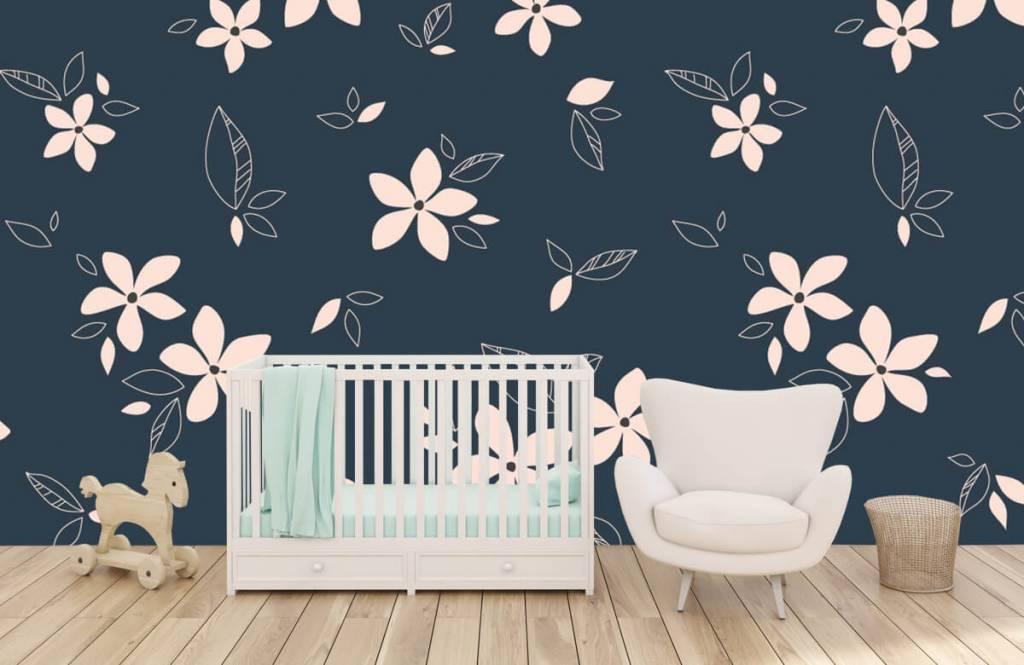 Patterns for Kidsroom - Motif floral rose - Chambre des enfants 5