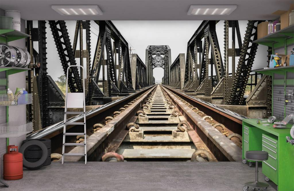Elements - Pont ferroviaire métallique - Garage 1