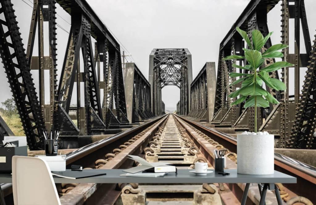 Elements - Pont ferroviaire métallique - Garage 2