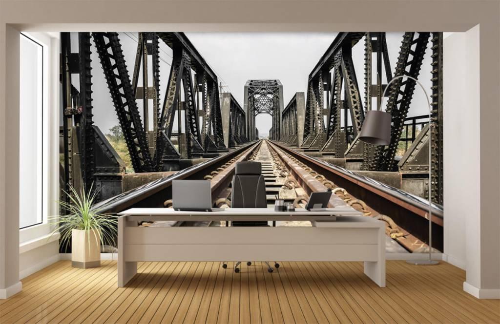 Elements - Pont ferroviaire métallique - Garage 4
