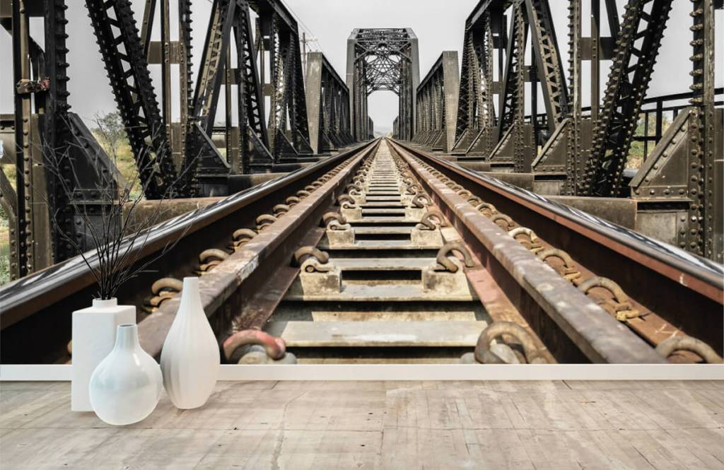Elements - Pont ferroviaire métallique - Garage 8