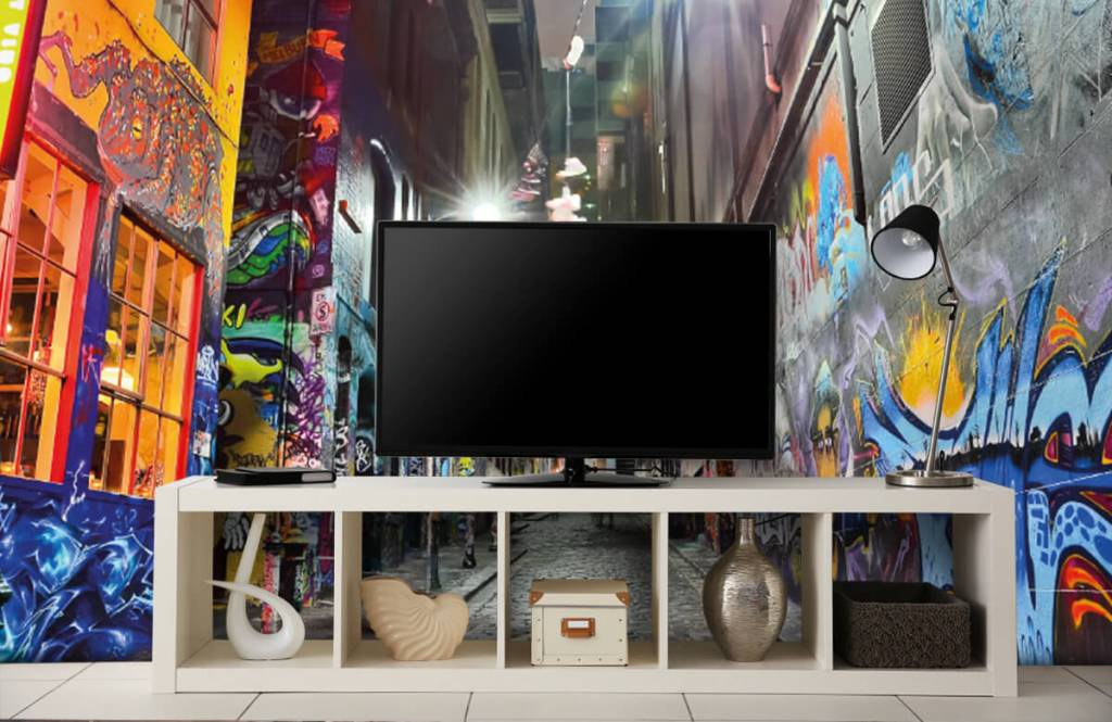 Graffiti - Rue avec graffiti - Chambre d'adolescent 5