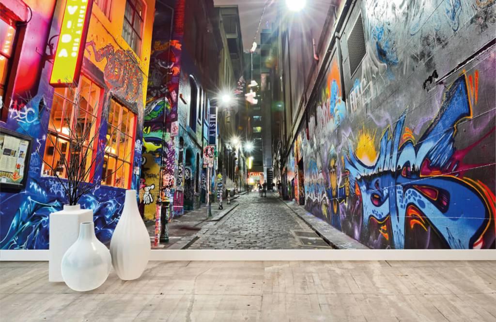 Graffiti - Rue avec graffiti - Chambre d'adolescent 8