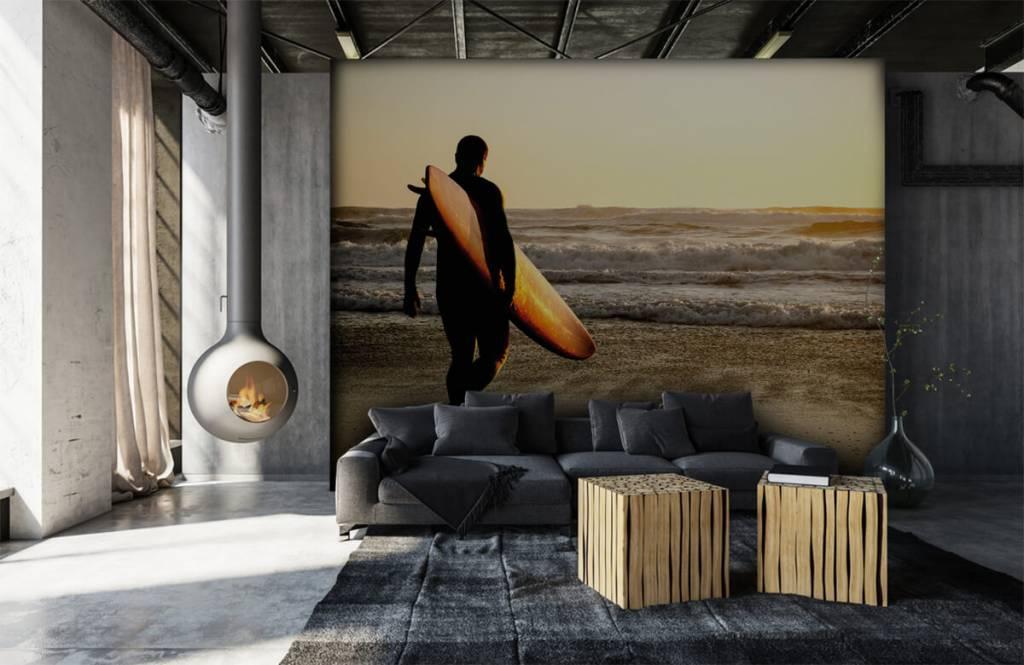 Papier peint de la plage - Surfeur - Chambre d'adolescent 7