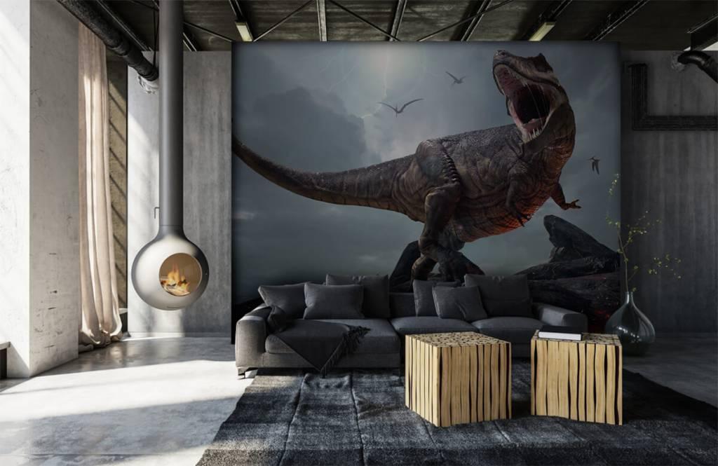 Dinosaurs - Tyrannosaure Rex - Chambre des enfants 1