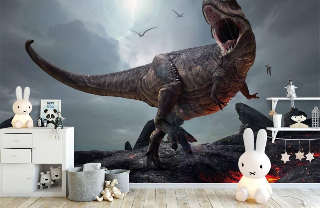 Dinosaurs - Tyrannosaure Rex - Chambre des enfants 2