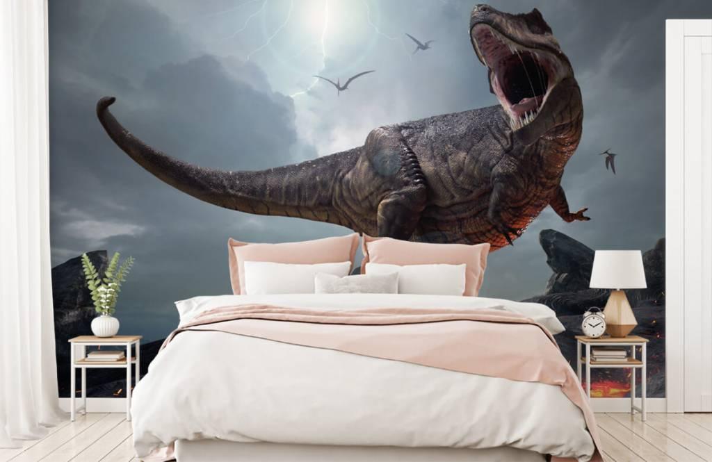Dinosaurs - Tyrannosaure Rex - Chambre des enfants 3
