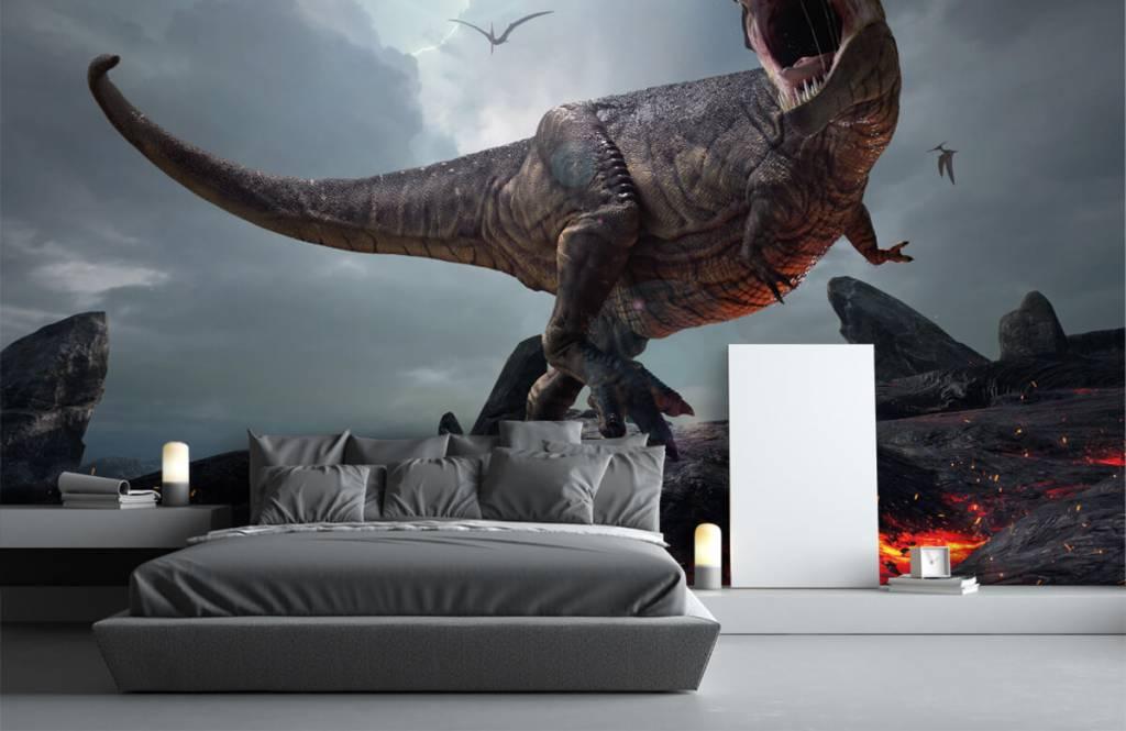 Dinosaurs - Tyrannosaure Rex - Chambre des enfants 4