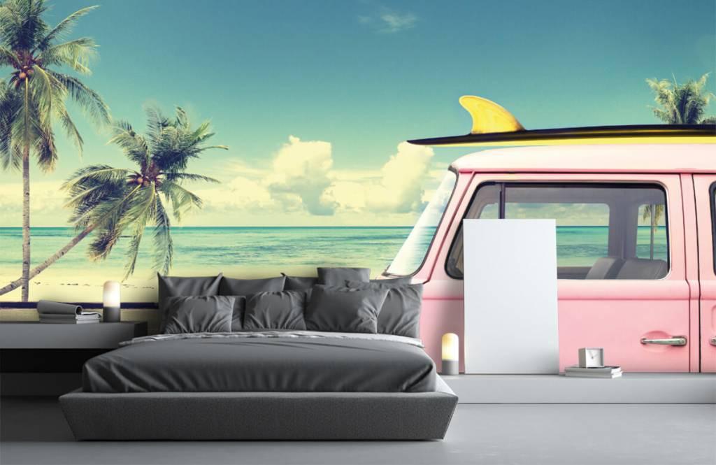 Transportation - Autobus de surf Volkswagen - Chambre à coucher 3