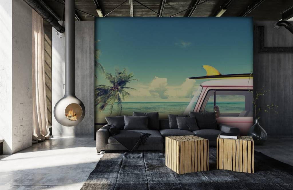 Transportation - Autobus de surf Volkswagen - Chambre à coucher 7