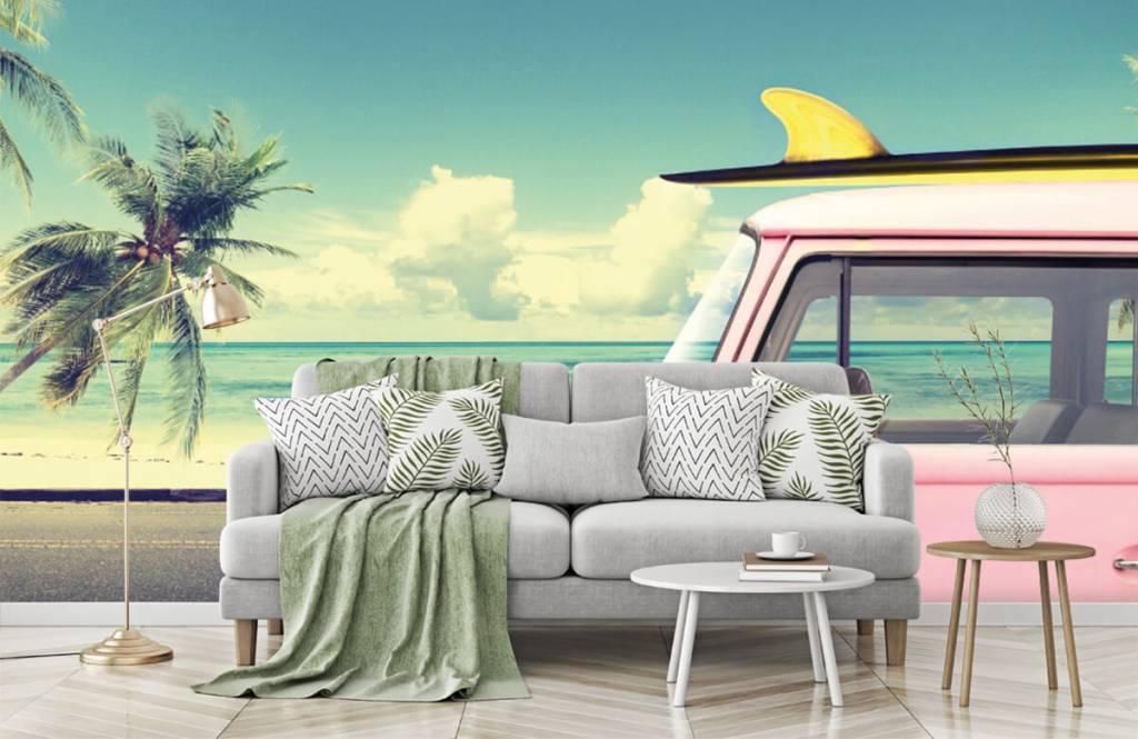 Transportation - Autobus de surf Volkswagen - Chambre à coucher 8